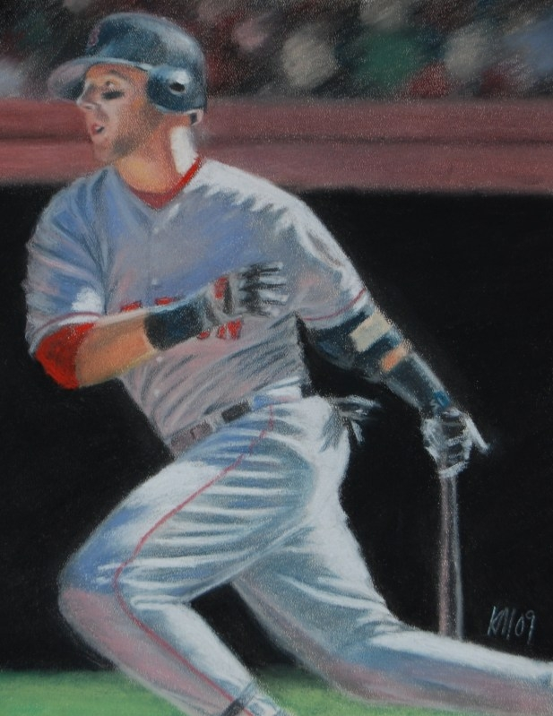 MVP, color pastel on paper, 2009