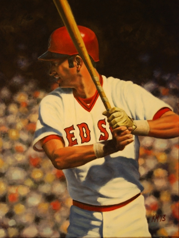 The Man They Call Yaz, oil on canvas, 2013