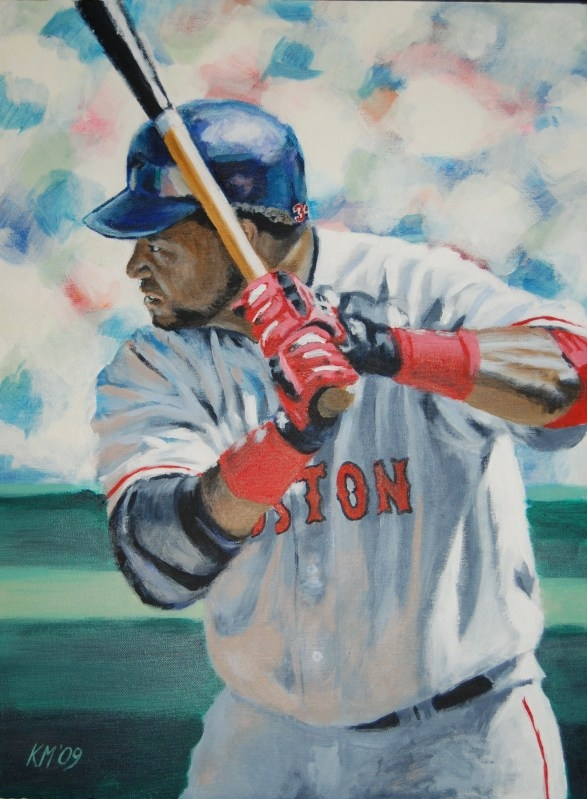 Big Papi, acrylic on canvas, 2009