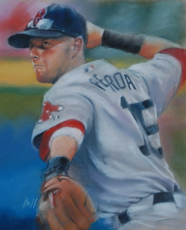 Tanner Boyle All Growns Up, color pastel on paper, 2011
