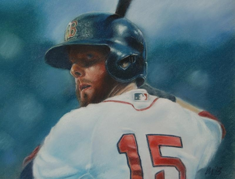 Pedey, color pastel on paper, 2014