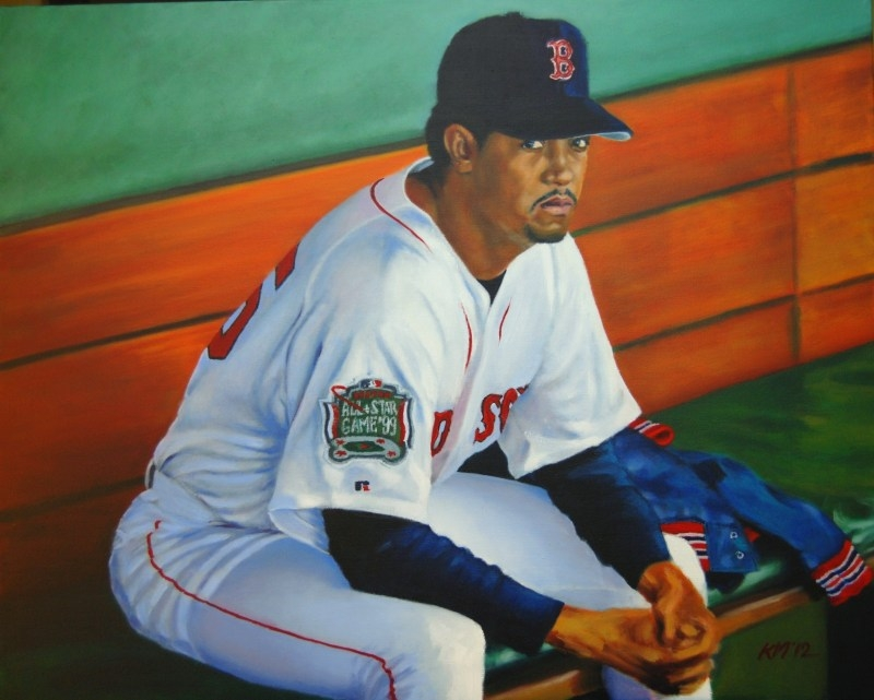Pedro, oil on canvas, 2012