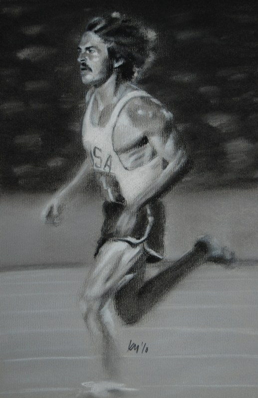 Pre, charcoal on paper, 2010